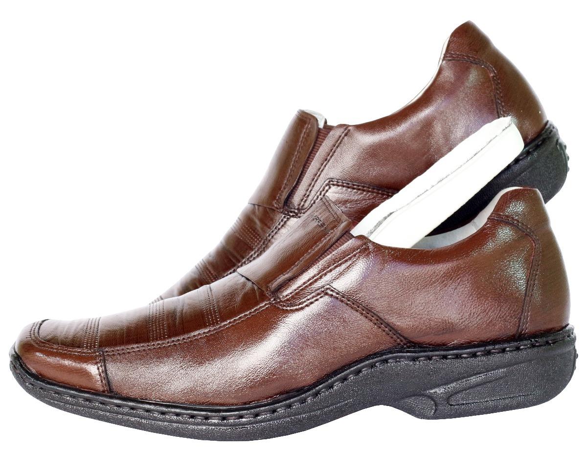 1693a7be54 Sapato Masculino Linha Conforto - R$ 187,99 em Mercado Livre