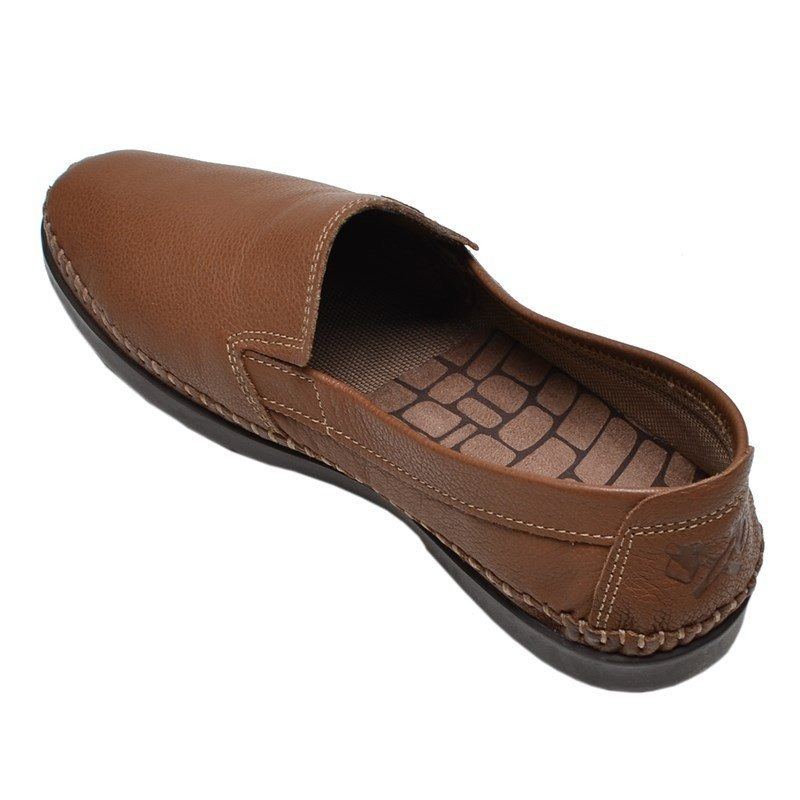 a145d5fcfa sapato masculino mocassim firenze sesamo freeway marrom. Carregando zoom.