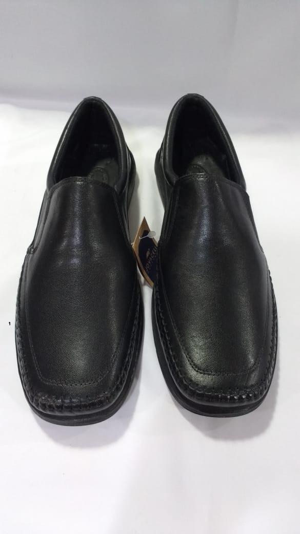 02e3f431806 sapato masculino numeros especiais mocassim preto 11007ab. Carregando zoom.