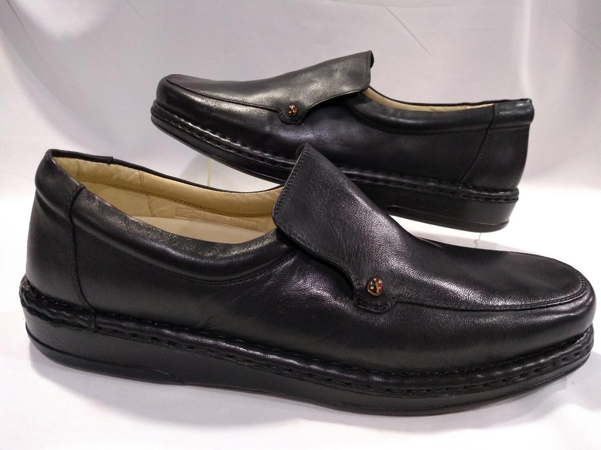 410280215 Sapato Masculino Opananken Antistress Preto 10101 - R$ 413,00 em ...