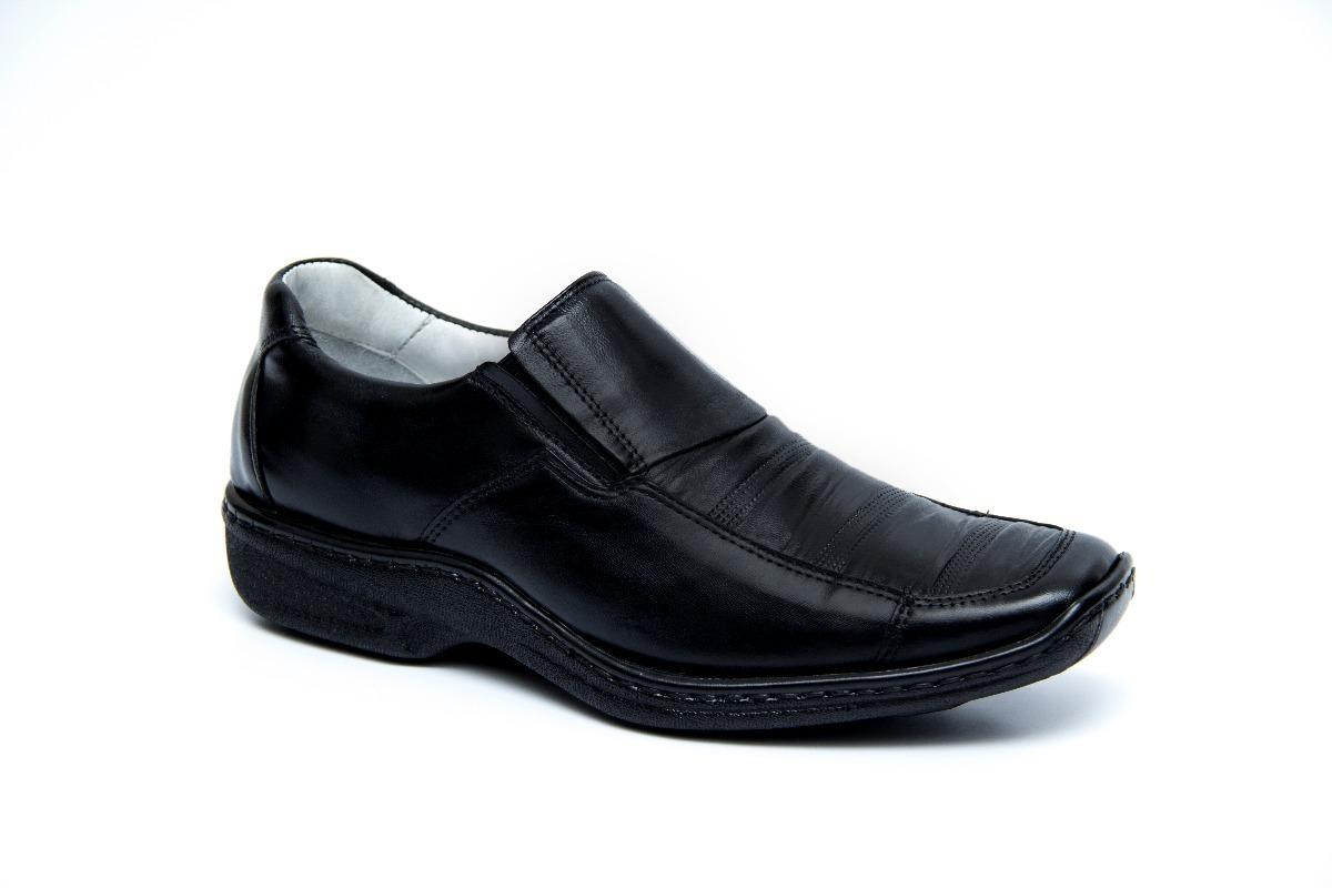 bc2911bd56 Características. Marca Mafisa  Modelo Linha Confort. Gênero Masculino  Tipo  de calçado Social  Material do calçado Couro Legitimo