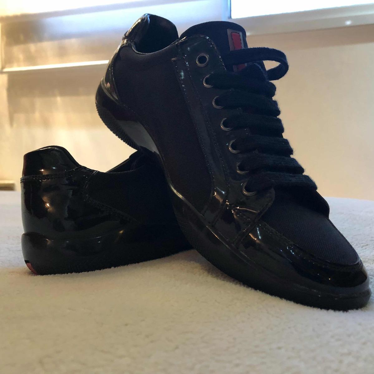 a836f5a4ddb25 Sapato Masculino Prada Original - R  1.000,00 em Mercado Livre