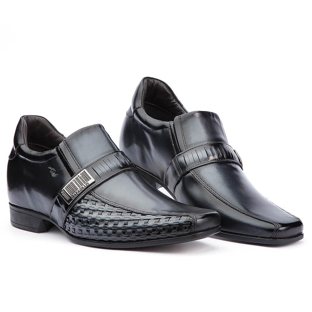 2708addf1 Sapato Social Masculino Rafarillo Alth Você 7cm + Alto - R  209