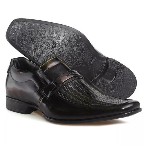 4d4d7b35c sapato social masculino couro las vegas 79288-17 rafarillo. Carregando  zoom... sapato masculino rafarillo