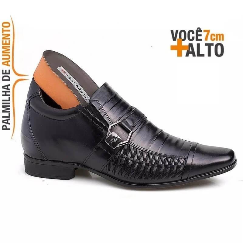 43c134b2af sapato masculino rafarillo alth 3212 você 7 cm mais alto. Carregando zoom.