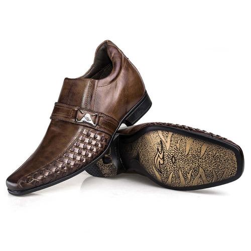 c6b34df1dcf Sapato Masculino Rafarillo Vegas Alth 3254 Vc 7 Cm Mais Alto - R ...