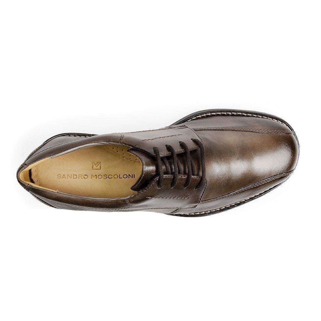 82c8bb6e49 Sapato Social Masculino Derby Sandro Moscoloni Lyon Marrom - R  224 ...