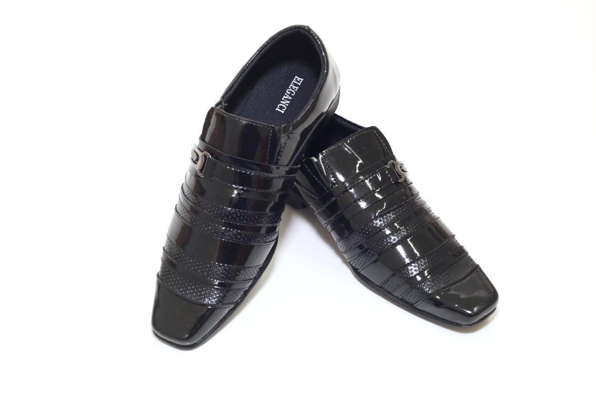 6ba83d309 sapato masculino social barato luxo verniz brilhoso. Carregando zoom.
