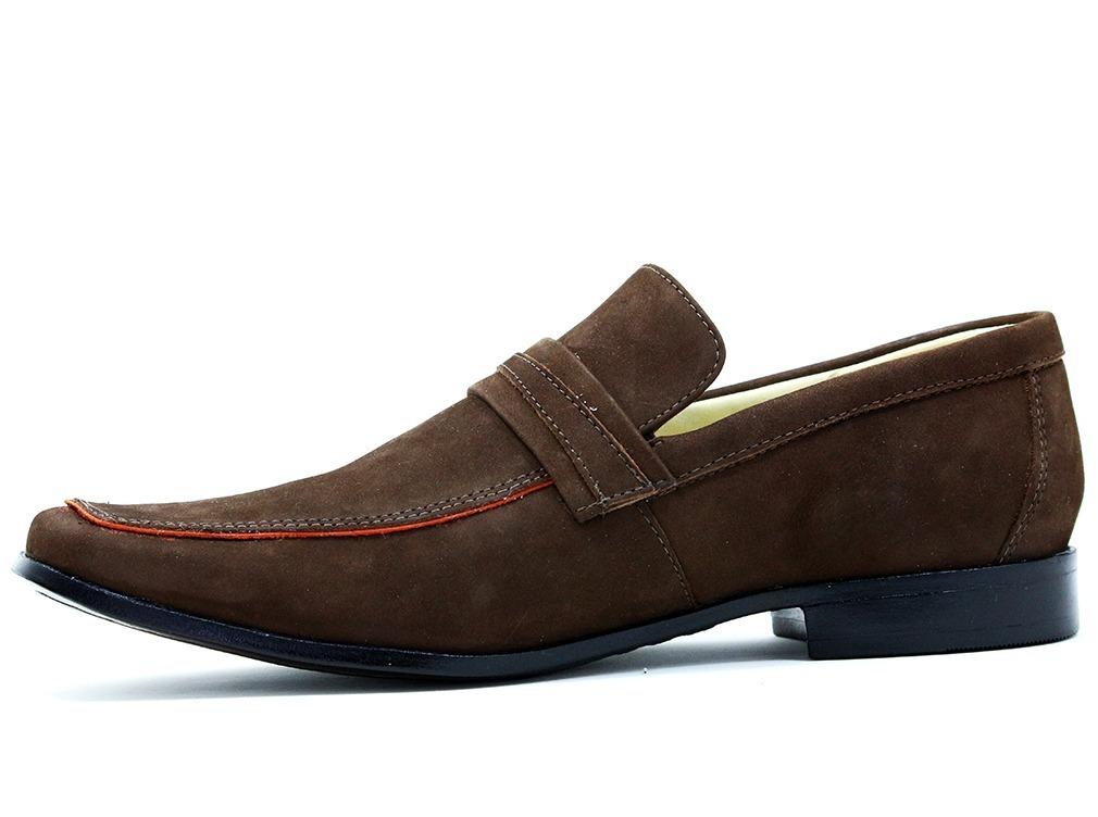 65cd3e733a sapato masculino social bico longo luxo stilo italiano couro. Carregando  zoom.