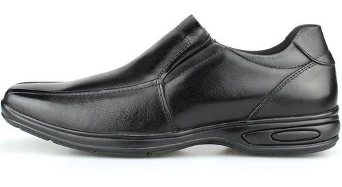 sapato masculino social casual antistress anatômico confort