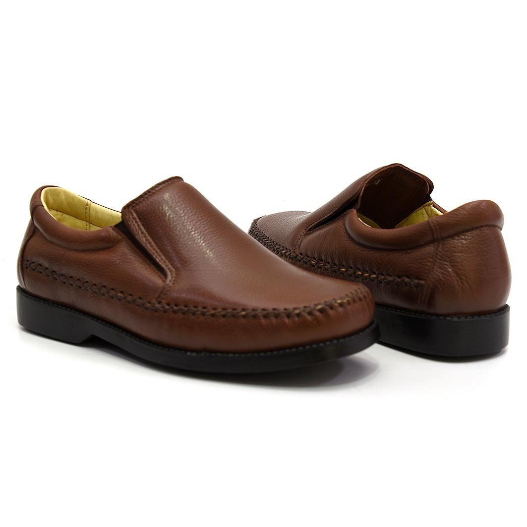 987a47edd7 sapato masculino social casual antistress couro legitimo. Carregando zoom.