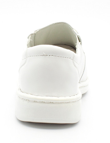 d7c72ed1e Sapato Masculino Social Casual Branco Couro Medico Antistres - R ...