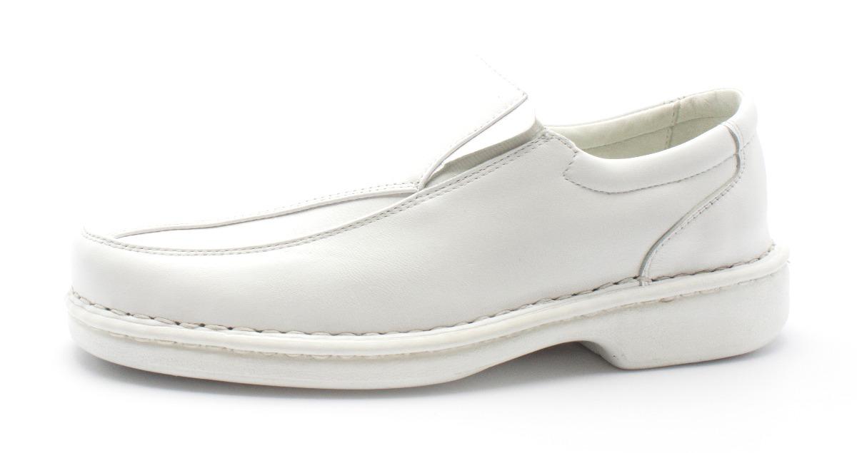 6d7c5b6b4 sapato masculino social casual branco couro medico dentista. Carregando  zoom.