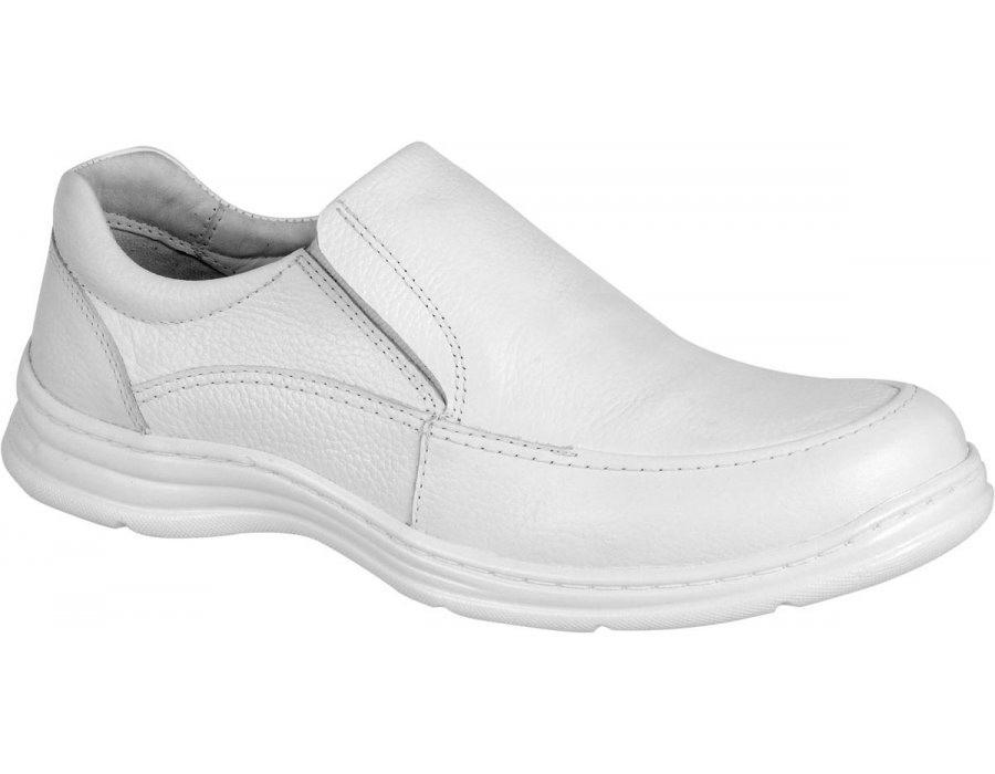 bd32bedc2 sapato masculino social casual médico dentista branco couro. Carregando  zoom.