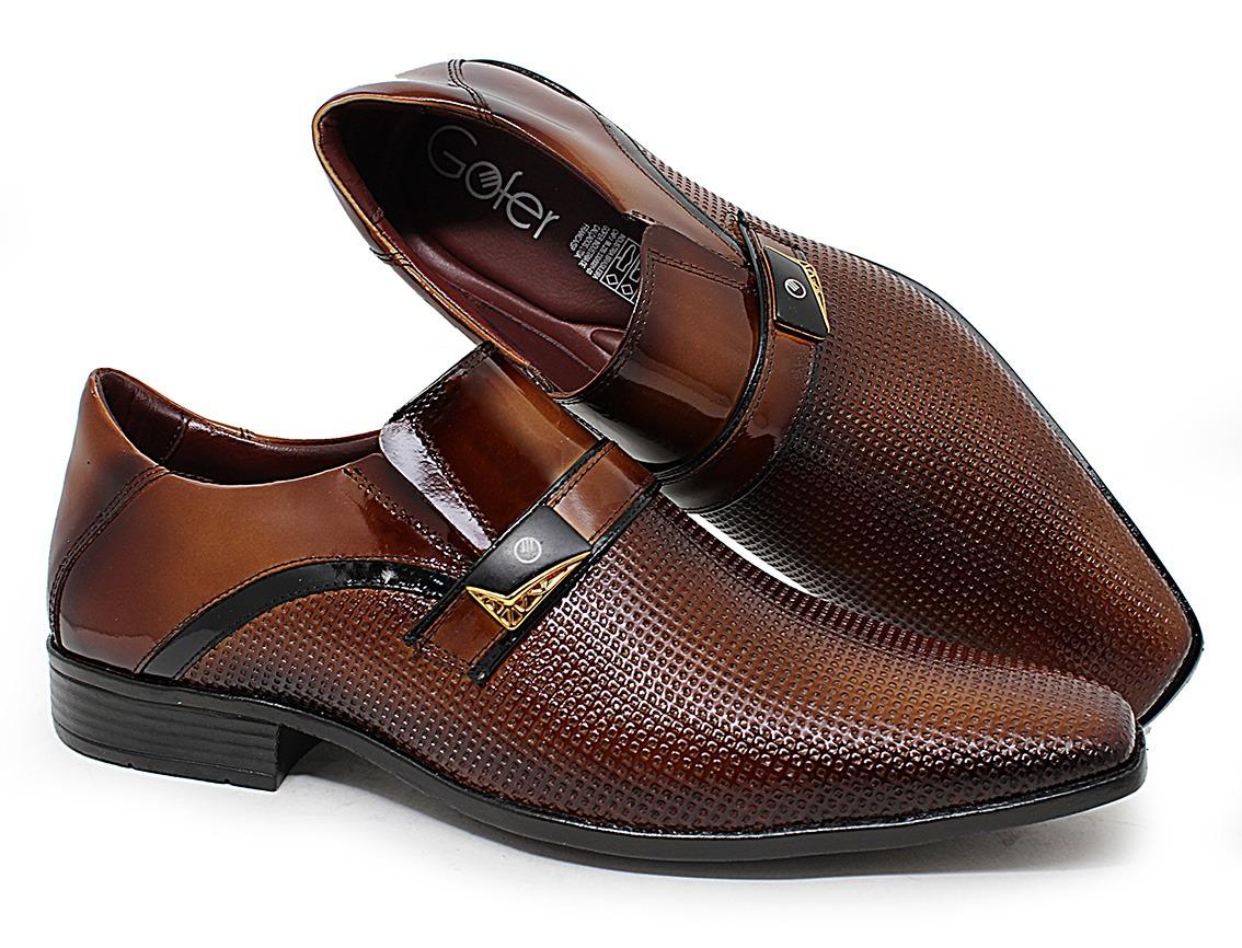 7c5bfaad7d sapato masculino social couro legítimo marrom café verniz. Carregando zoom.