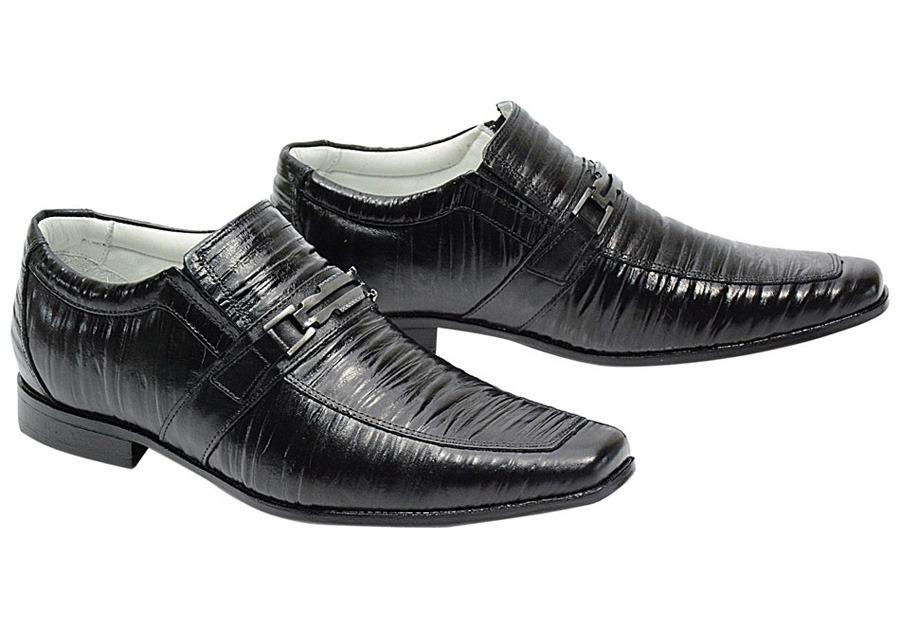 d57842436b sapato masculino social envernizado brilhoso couro mestiço. Carregando zoom.