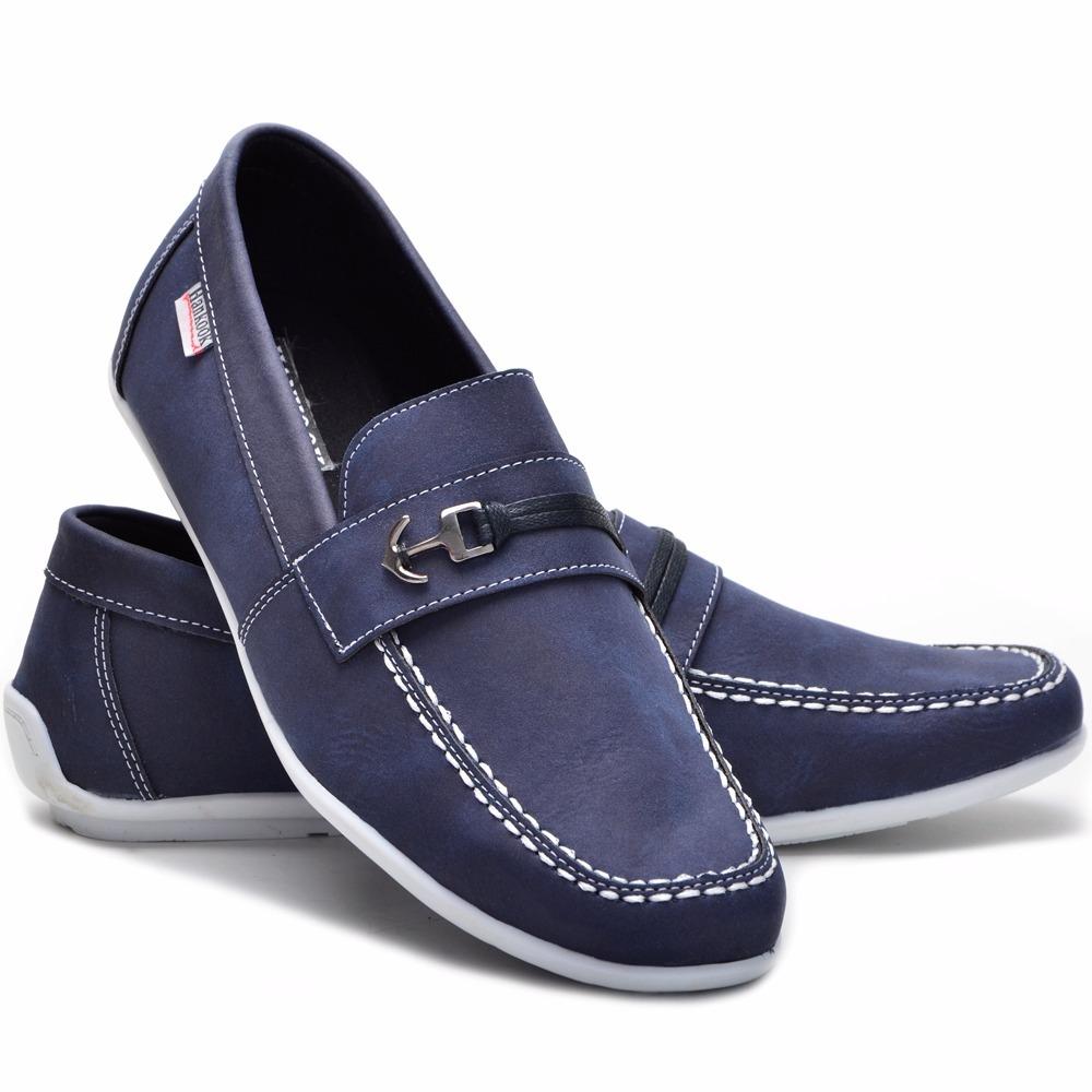 49ebbe891d sapato masculino social esporte fino em couro alternativo. Carregando zoom.