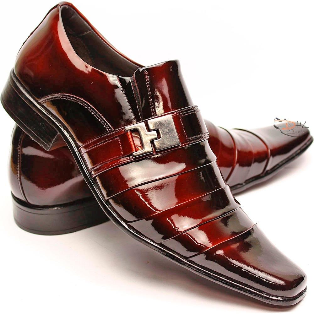05f3712ac sapato masculino social fino exclusivo dhl calçados franca. Carregando zoom.