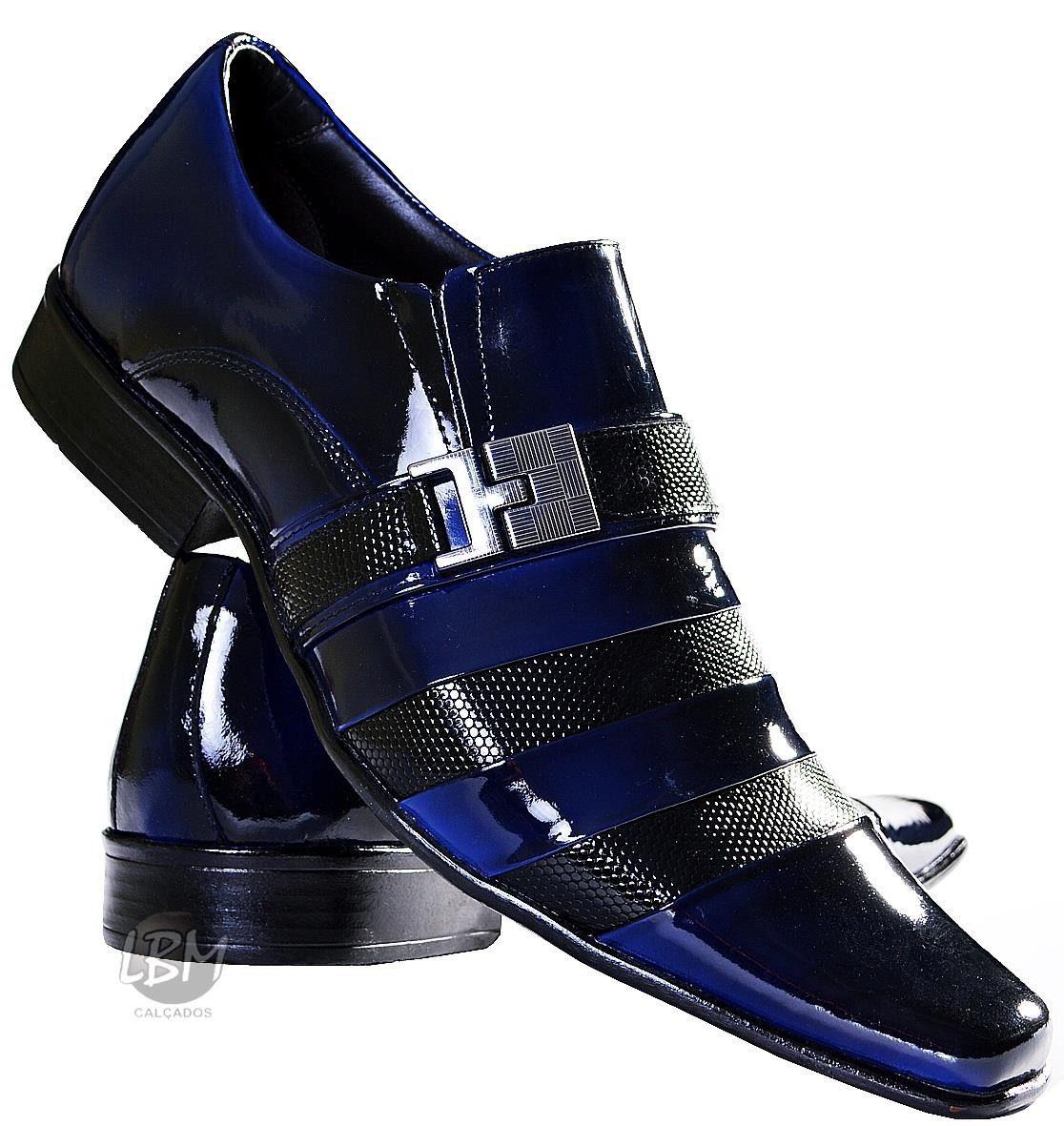 69b1f4b80 Sapato Masculino Social No Mercado Livre Menor Preço Da Net - R$ 179 ...
