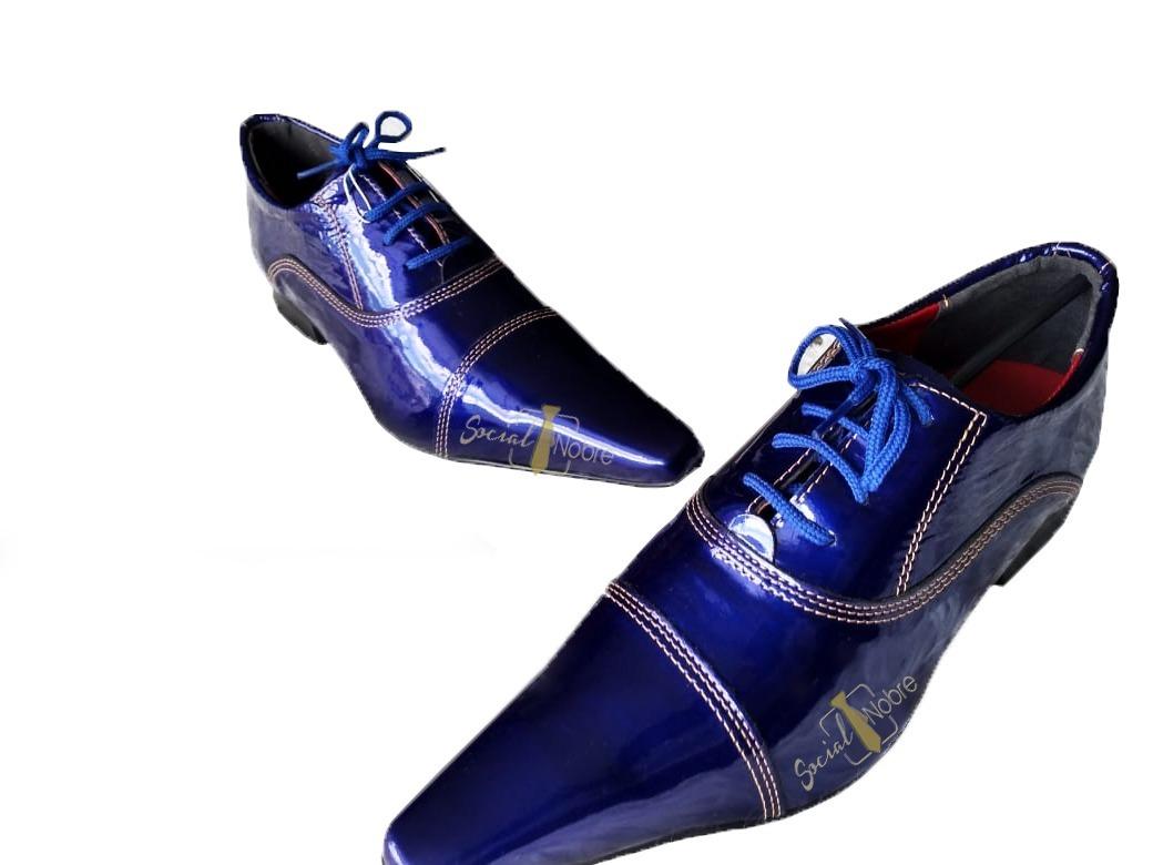 819af6034 sapato masculino social nobre envernizado bico fino 2019. Carregando zoom.