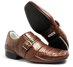 42f510bd8 Sapatos Masculinos Trabalhados Sociais Masculino - Sapatos Sociais e  Mocassins com o Melhores Preços no Mercado Livre Brasil