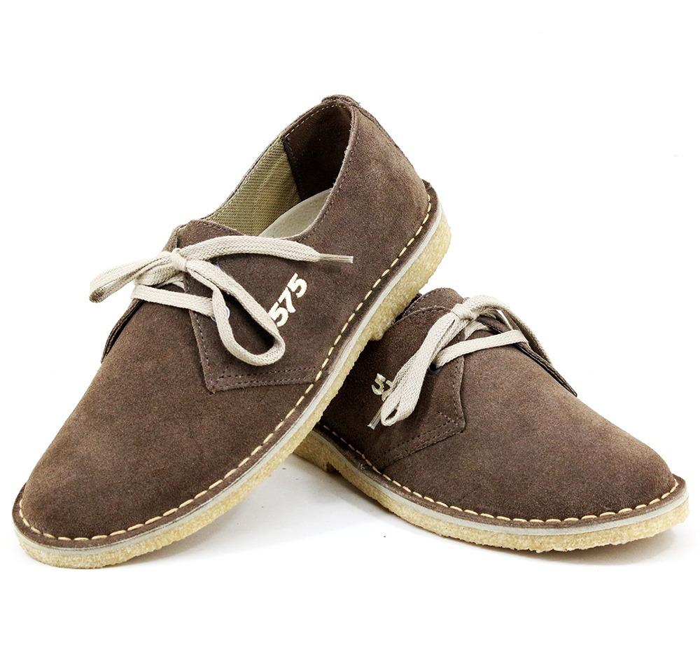 e802d604ab7 sapato masculino tênis camurça cor cafe tipo 775 crepe. Carregando zoom.