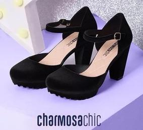 a293703c62 Sapato Boneca Camurca Preto Lolita - Calçados