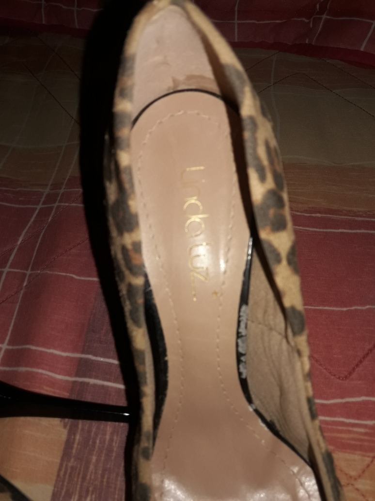 63a89b077 Sapato Meia Pata Linda Luz - R$ 50,00 em Mercado Livre