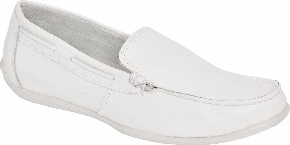 be4c77a3d5 sapato mocassim branco masculino médico dentista enfermeiro. Carregando  zoom.
