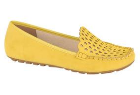 f7102c1c43 Mocassim Vizzano Amarelo - Calçados