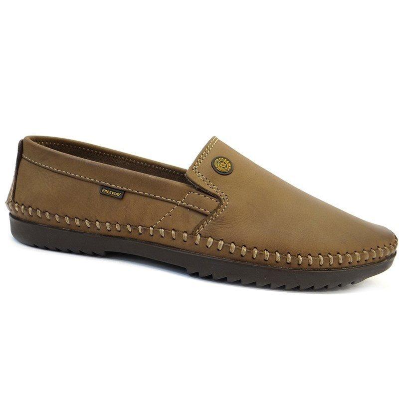 eb9ab836f sapato mocassim de couro logan - 4 - free way (21) - sesamo. Carregando  zoom.