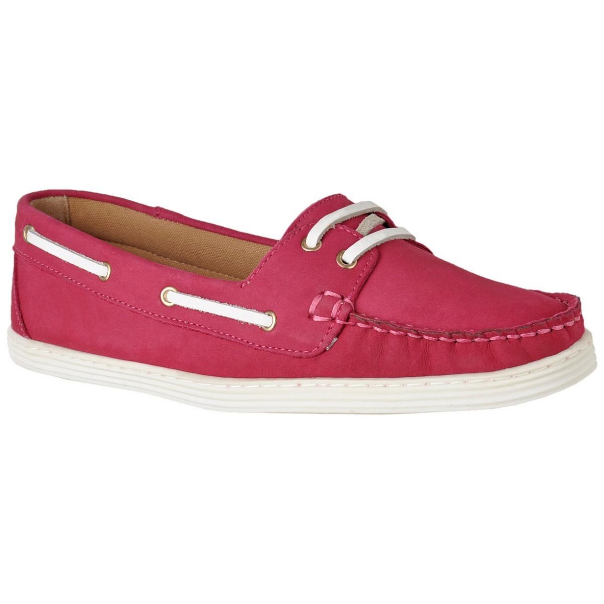 d1ada0e520 Sapato Mocassim Dockside Feminino Conforto Couro Legítimo L. - R ...