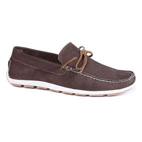 02a0746094 Sapato Dockside Masculino Em Couro Nobuck Marrom Dock Sider - Sapatos no  Mercado Livre Brasil