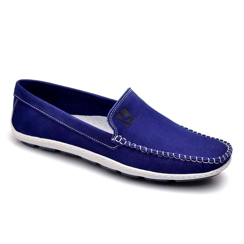 b7e29daab28 sapato mocassim em couro masculino dockside azul bic macio. Carregando zoom.