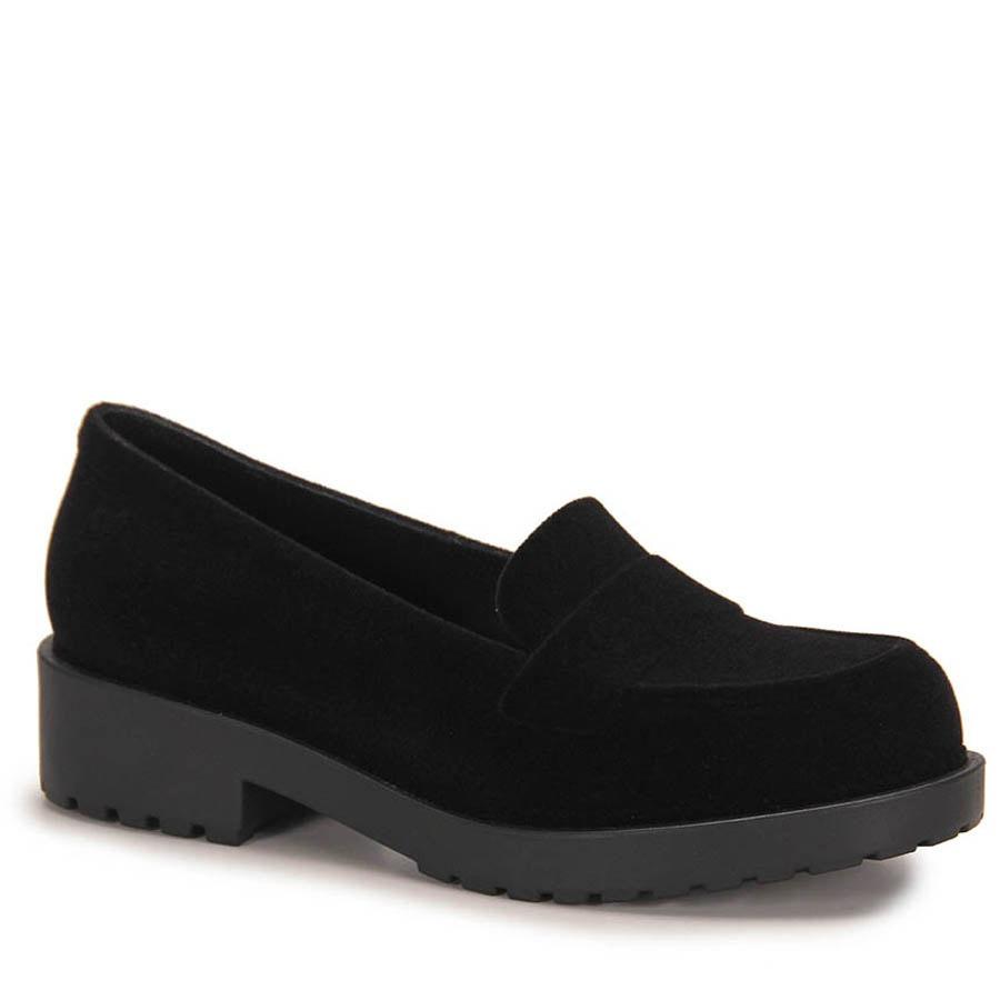 4e3e5afa2a sapato mocassim feminino zaxy date floc - preto. Carregando zoom.
