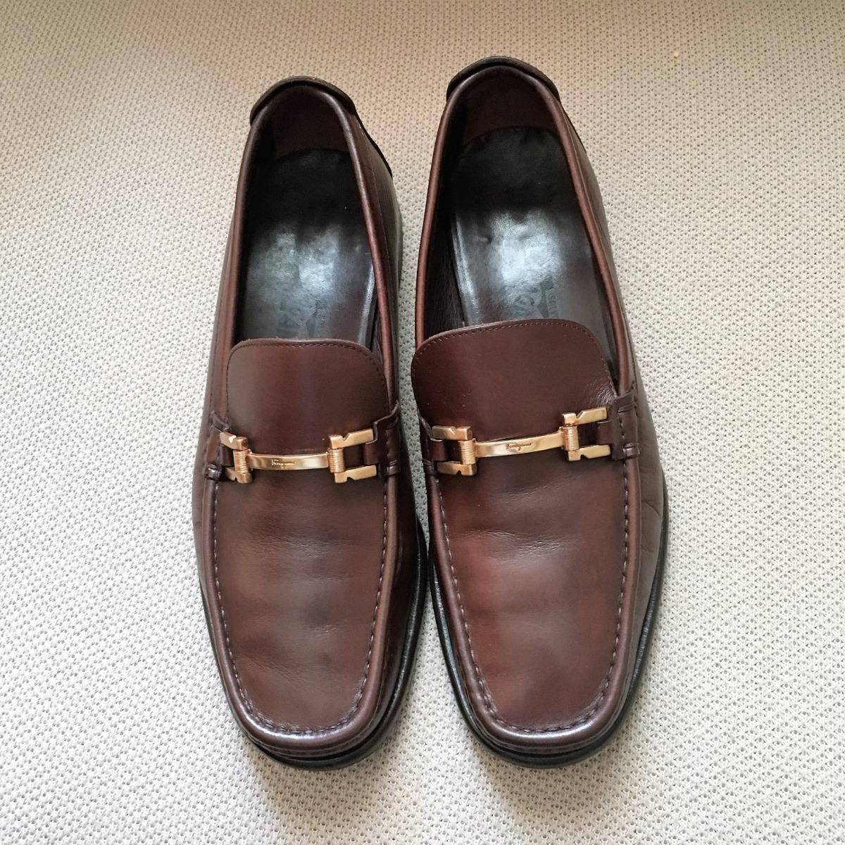 d7eb011f1d24b sapato mocassim ferragamo masculino 42 usado. Carregando zoom.