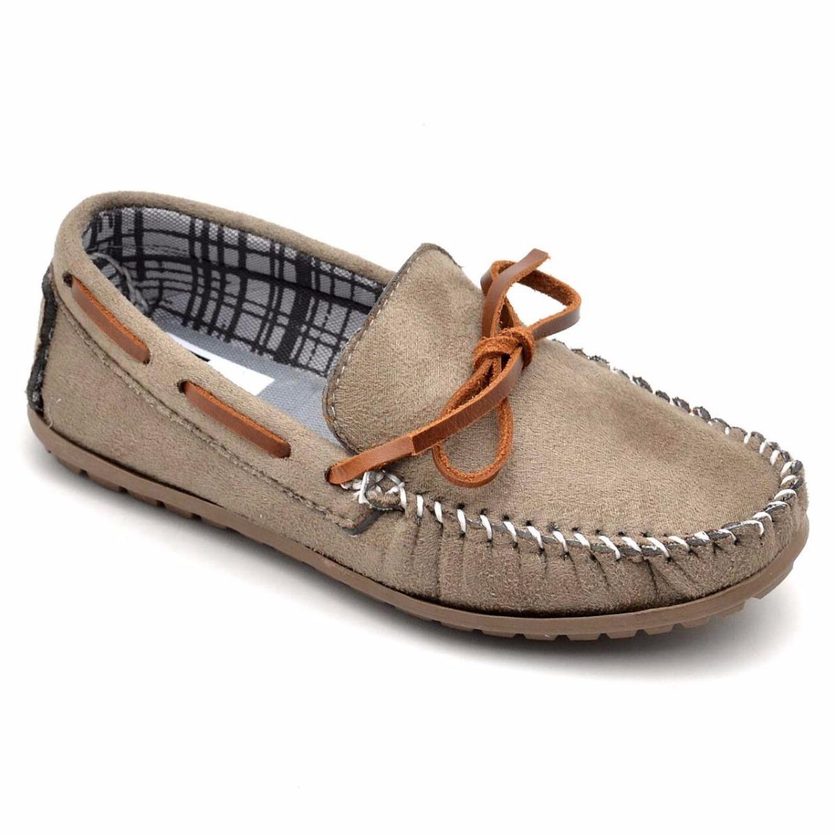 3126def0e8 sapato mocassim infantil esporte 100% camurça kids junior. Carregando zoom.