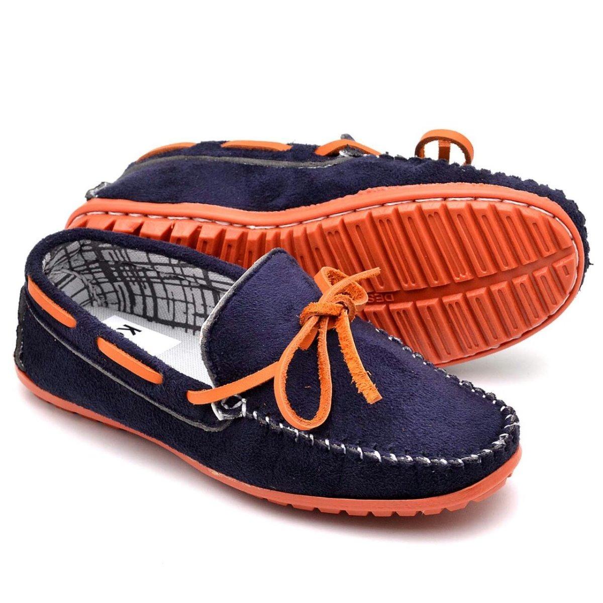 9d6e5ed117 sapato mocassim infantil masculino 100% couro casual social. Carregando  zoom.