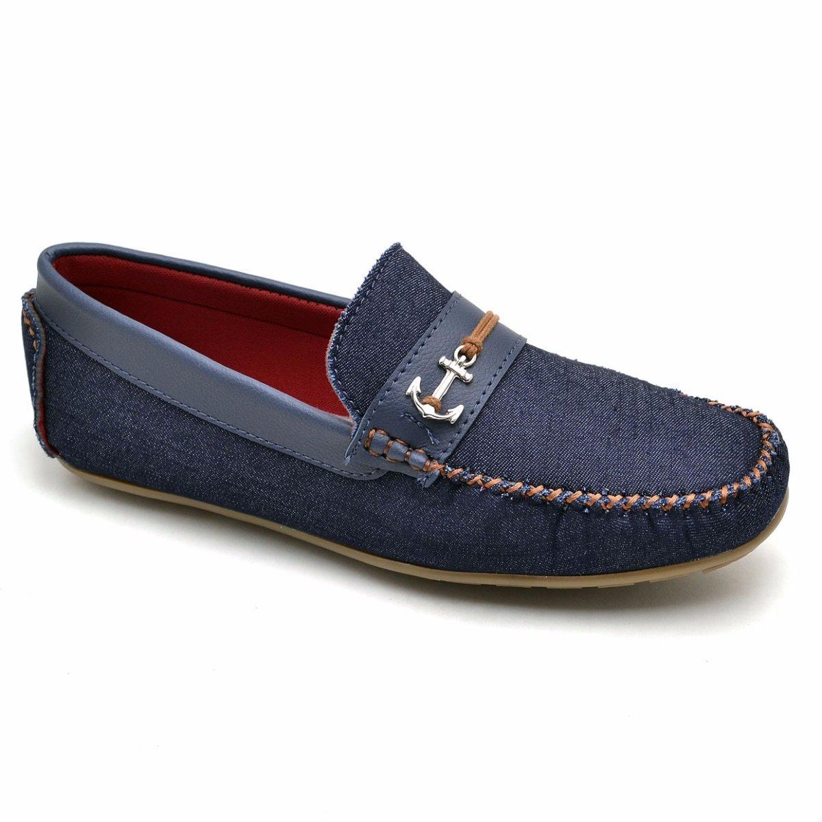 938036d516 sapato mocassim infantil masculino couro casual 4 cores. Carregando zoom.