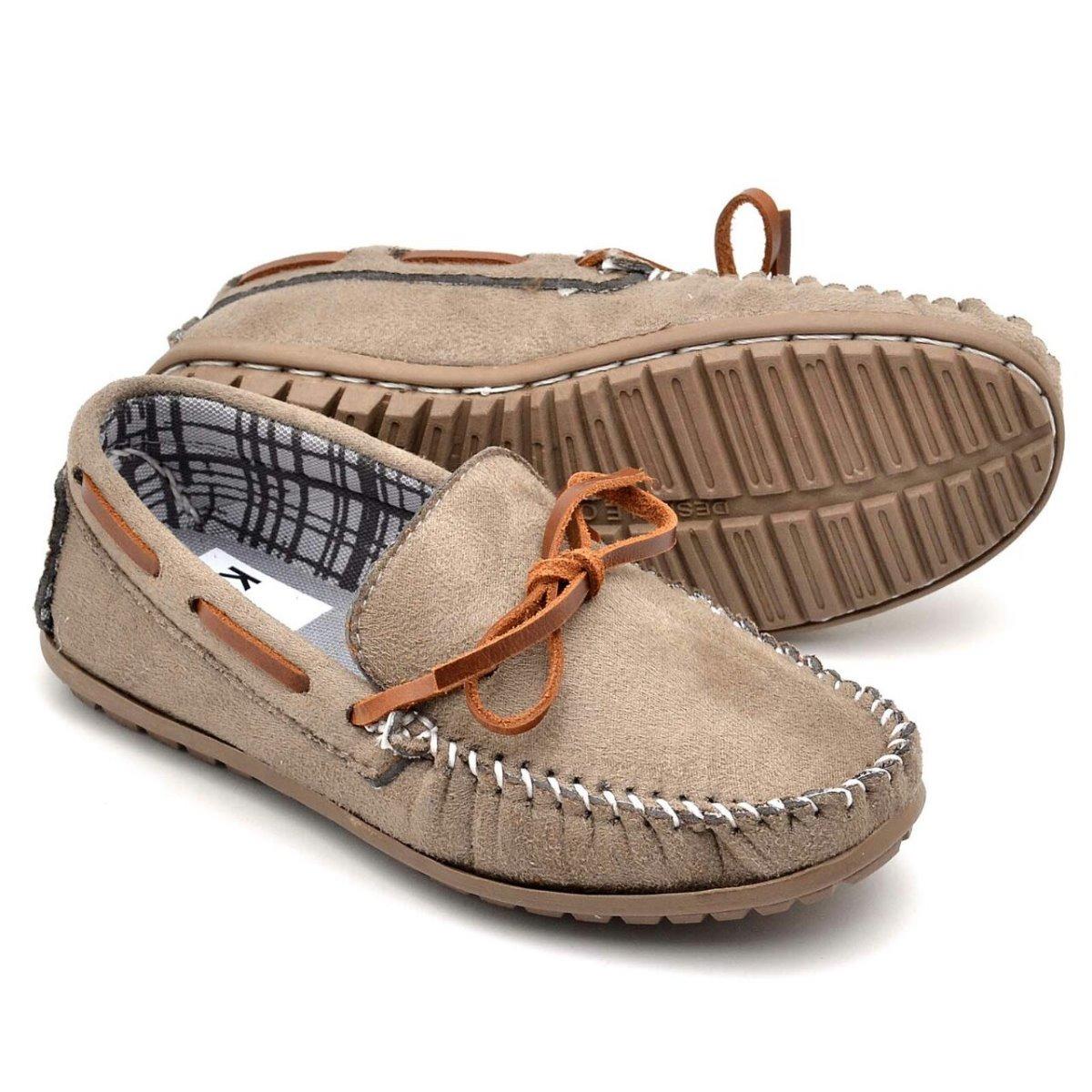 3f768ba2ad sapato mocassim infantil masculino em couro casual 3 cores. Carregando zoom.