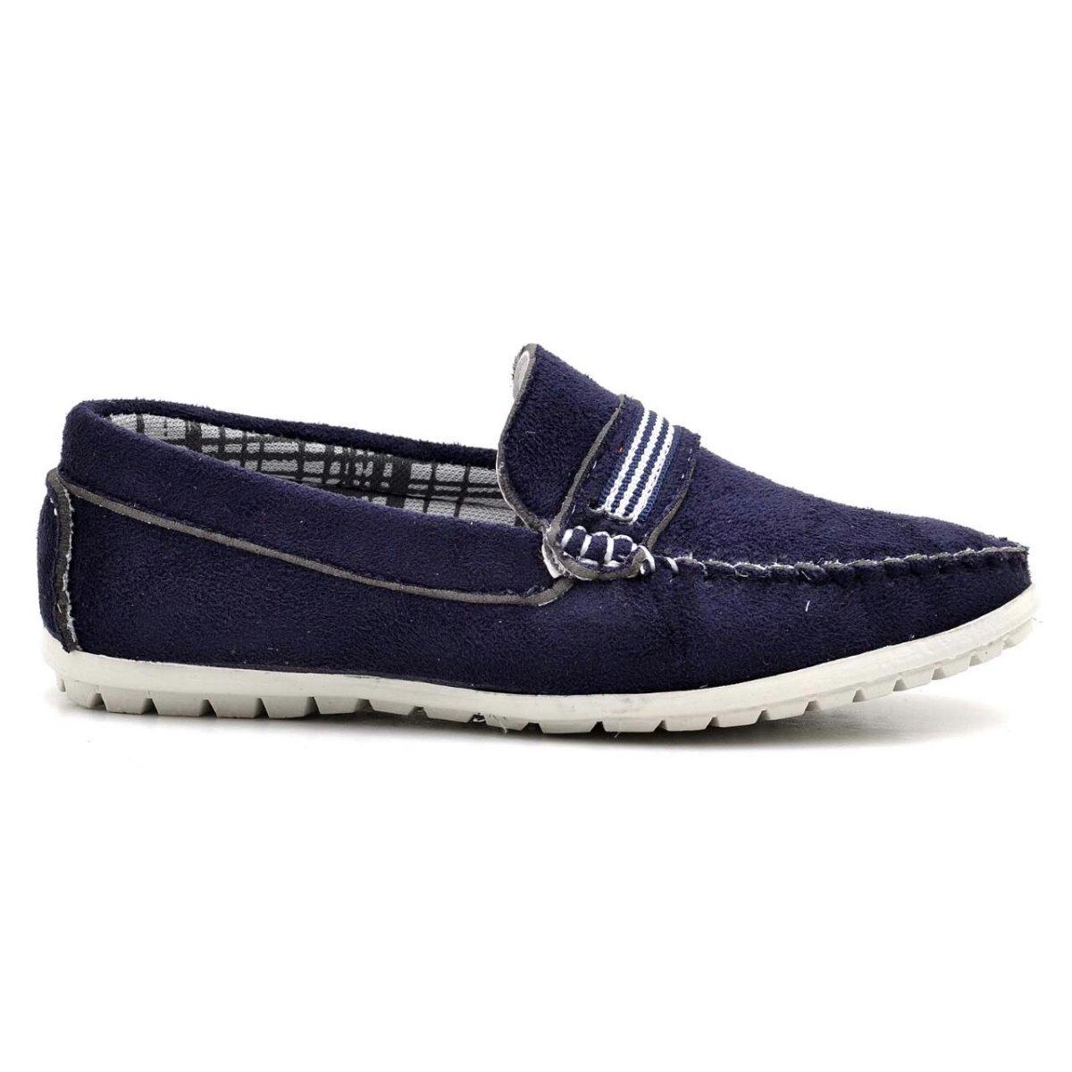 55cf6015da sapato mocassim infantil masculino em couro casual 4 cores. Carregando zoom.