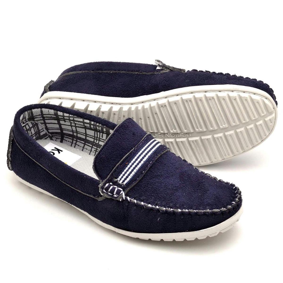 c234103f45 sapato mocassim infantil masculino em couro legítimo casual. Carregando  zoom.