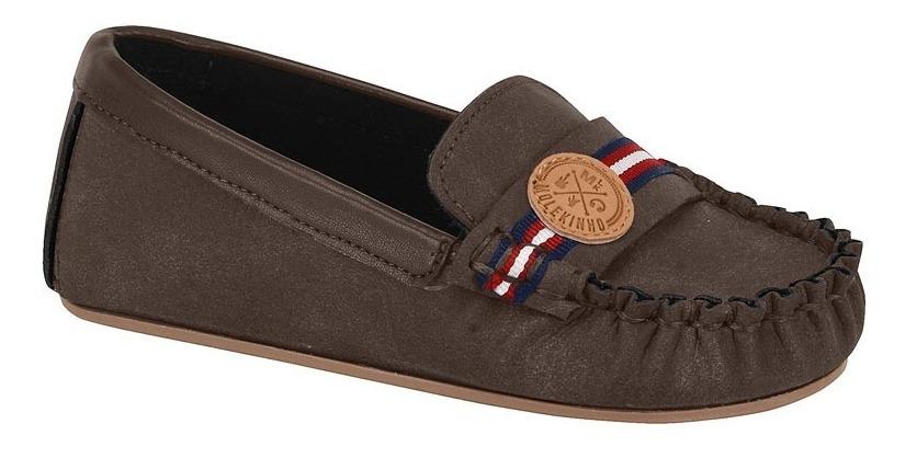 94d6ac1e8f Sapato Mocassim Infantil Masculino Molekinho - R$ 79,99 em Mercado Livre
