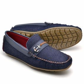 13917a3627 Mocassim Masculino Satinato Genuine Em Nobuck - Sapatos Azul marinho ...
