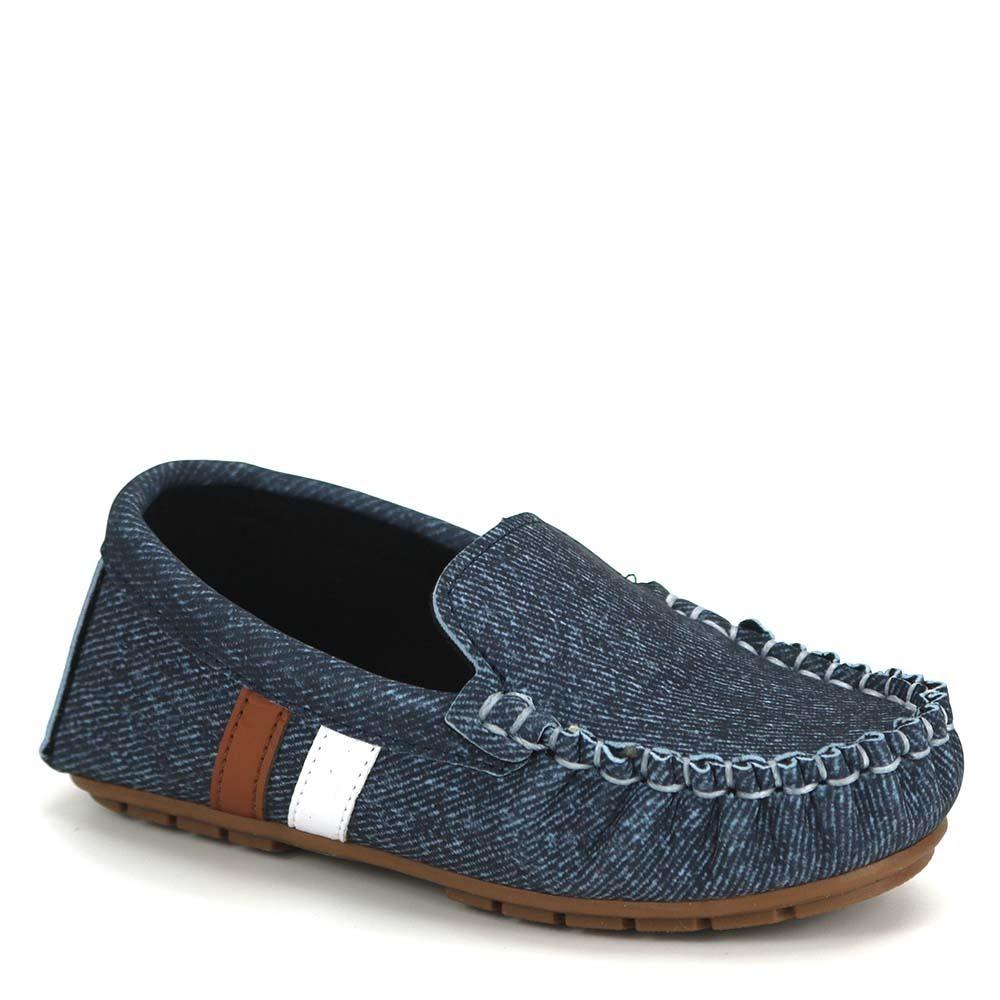 5d6e23fc2e sapato mocassim infantil mlk molekinho 2142.101 jeans escuro. Carregando  zoom.