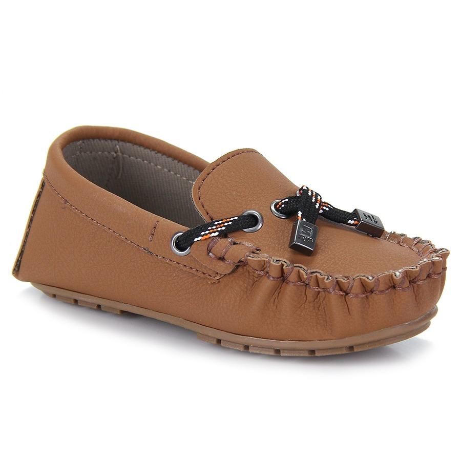 825f2e02b3 Sapato Mocassim Infantil Molekinho - Caramelo - R$ 64,99 em Mercado ...