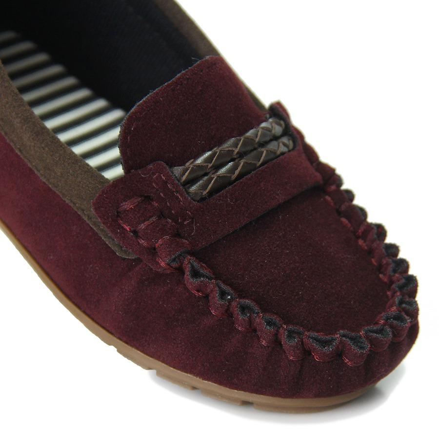 61c031bb8e sapato mocassim infantil molekinho - vinho. Carregando zoom.