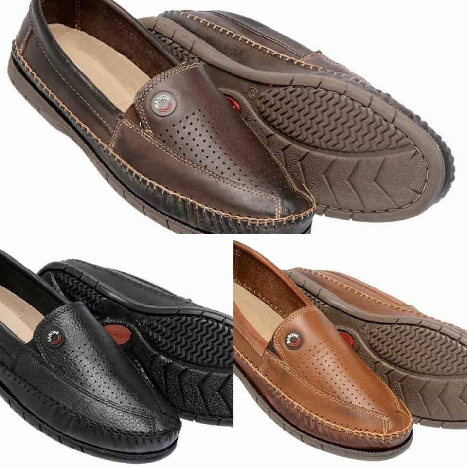 0e57f131af sapato mocassim kit 3 pares sapatilha tenis masculino couro. Carregando  zoom.