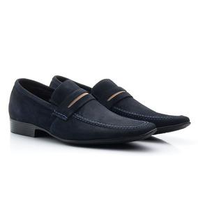 e7ac00c3e6 Sapato Social Masculino Couro Camurca - Sapatos no Mercado Livre Brasil