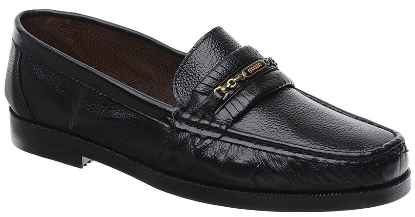 8968b93180 sapato mocassim masculino fearnothi em couro. Carregando zoom.